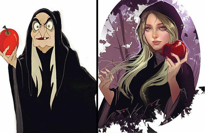 Personagens famosos recriados por uma artista coreana em seu próprio estilo 41