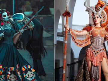 20 trajes tradicionais do Miss México 2020 que nos deixaram de boca aberta 35