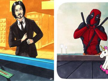 Aqui está o que personagens famosos comprariam no supermercado 24
