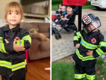Criança de 4 anos salva a vida de sua mãe e cuida dos seus irmãos menores 2