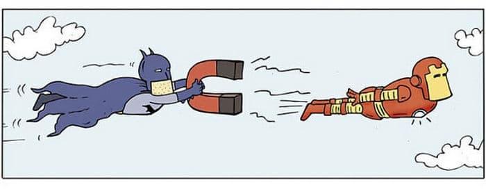 Artista mostra o dia a dia não tão glamoroso dos super-heróis 35