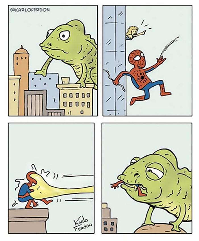 Artista mostra o dia a dia não tão glamoroso dos super-heróis 41