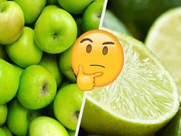 Você só pode salvar uma fruta de cada cor: 3