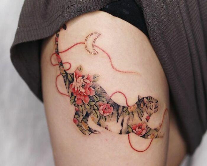 30 ideias de tatuagens por Sion Kwak 15