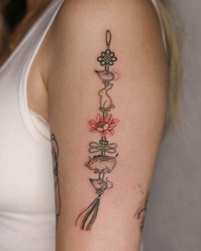 30 ideias de tatuagens por Sion Kwak 24
