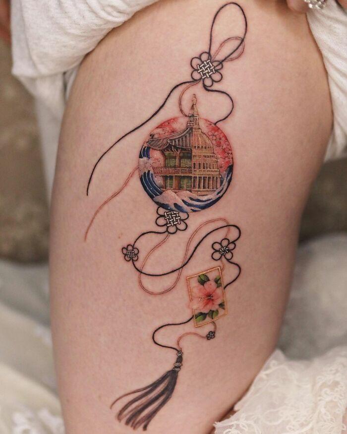 30 ideias de tatuagens por Sion Kwak 28