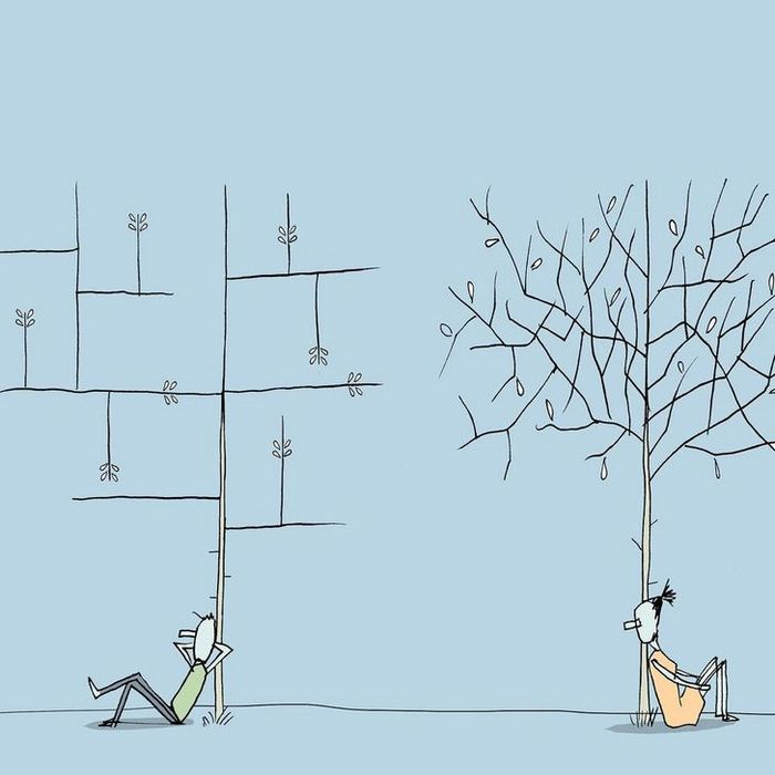 18 ilustrações de um artista que revela a verdadeira natureza do mundo moderno 11