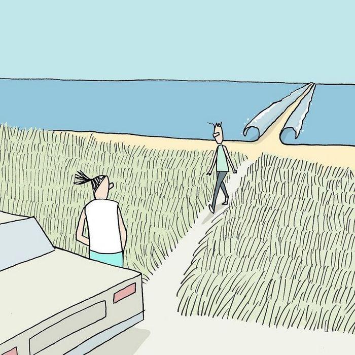 18 ilustrações de um artista que revela a verdadeira natureza do mundo moderno 18