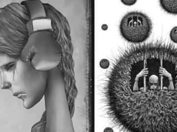 Os erros da sociedade atual em 55 ilustrações controversas 2