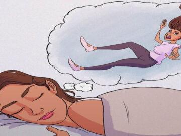 Por que às vezes temos a sensação de cair quando estamos dormindo? 2