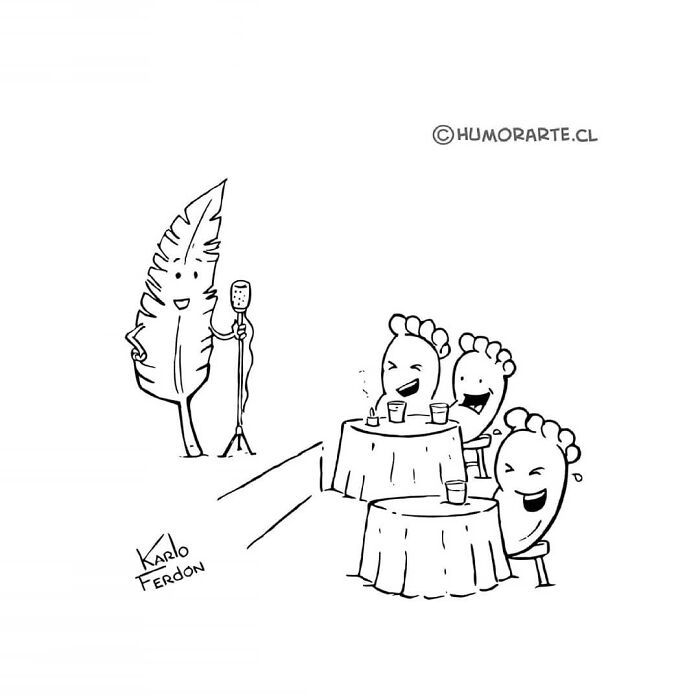 30 quadrinhos curtos e humorísticos de Karlo Ferdon 11