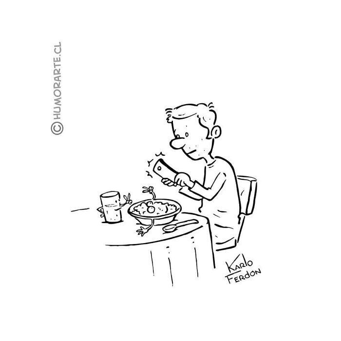 30 quadrinhos curtos e humorísticos de Karlo Ferdon 12