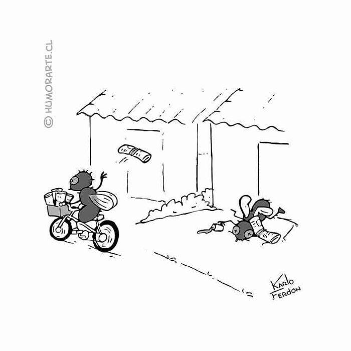 30 quadrinhos curtos e humorísticos de Karlo Ferdon 13