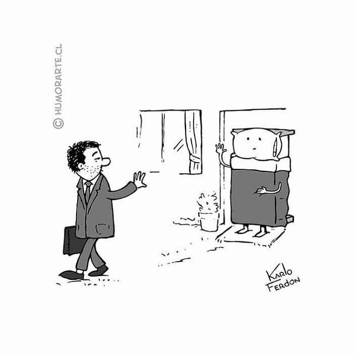 30 quadrinhos curtos e humorísticos de Karlo Ferdon 14