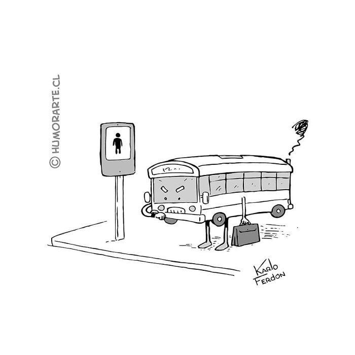 30 quadrinhos curtos e humorísticos de Karlo Ferdon 20