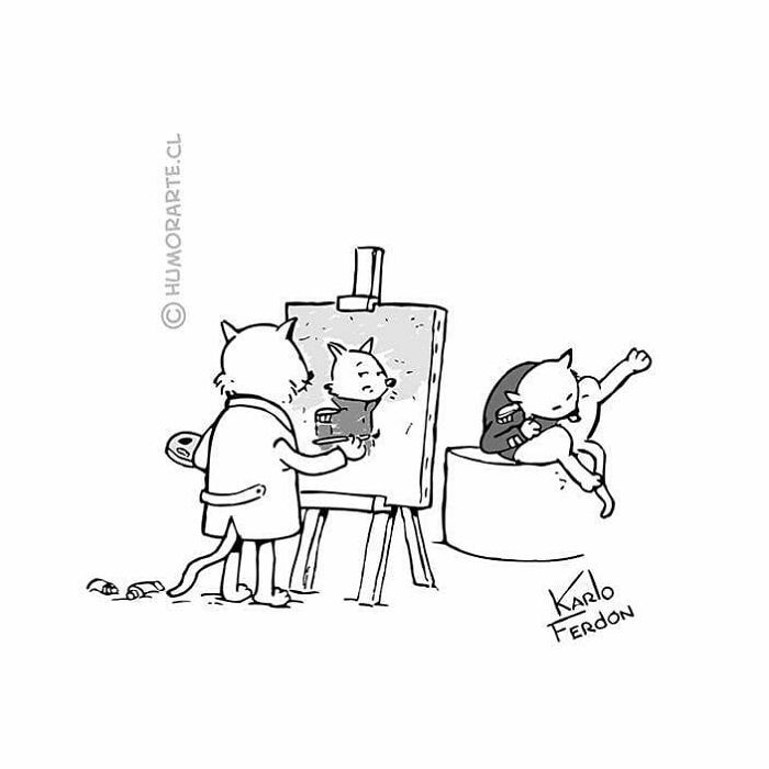 30 quadrinhos curtos e humorísticos de Karlo Ferdon 27