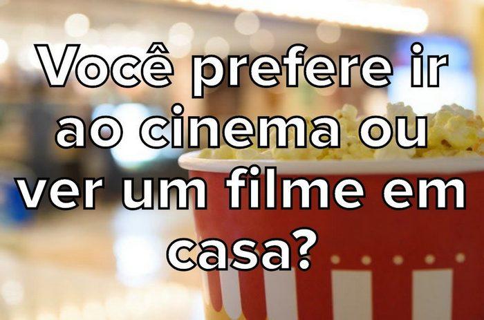 Seus hábitos no cinema são normais? 11