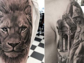 40 tatuagens impressionantes por um artista sueco 8