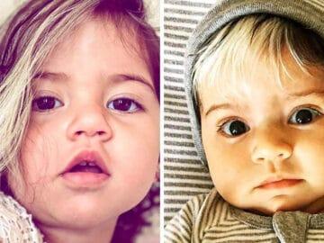 A bebê que nasceu com cabelo grisalhos é a prova de que nossos defeitos nos tornam mais bonitos 3