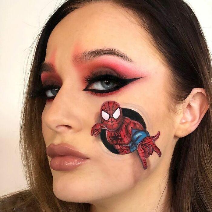 Artista de maquiagem se transforma em qualquer celebridade ou ilusão de ótica que ela deseja 17