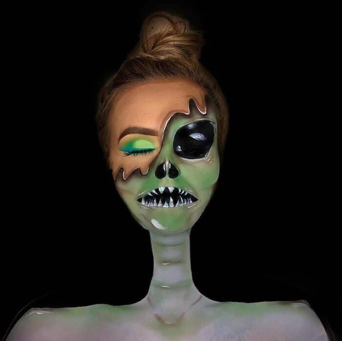 Artista de maquiagem se transforma em qualquer celebridade ou ilusão de ótica que ela deseja 35