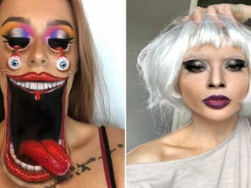 Artista de maquiagem se transforma em qualquer celebridade ou ilusão de ótica que ela deseja 26