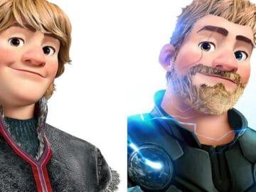 Artista imaginou personagens da Disney como super-heróis 15