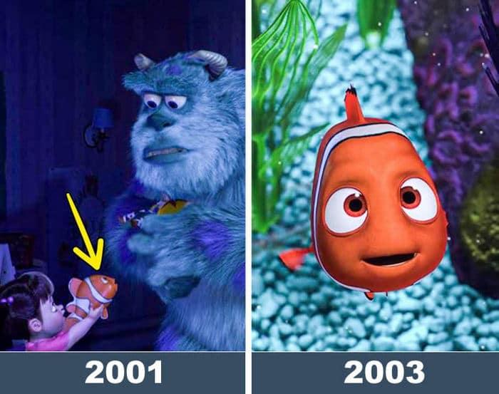 12 fatos interessante sobre os filmes da Pixar 6
