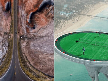 36 fotos de drones surreal que vão te dar frio na barriga 3