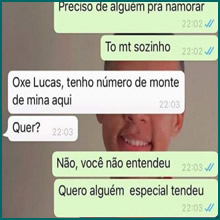 Perai Lucas, Resolvo seu problema…