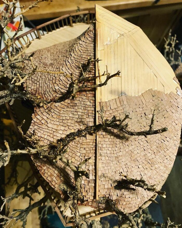 24 fantásticas casas na árvore de bonsai 20