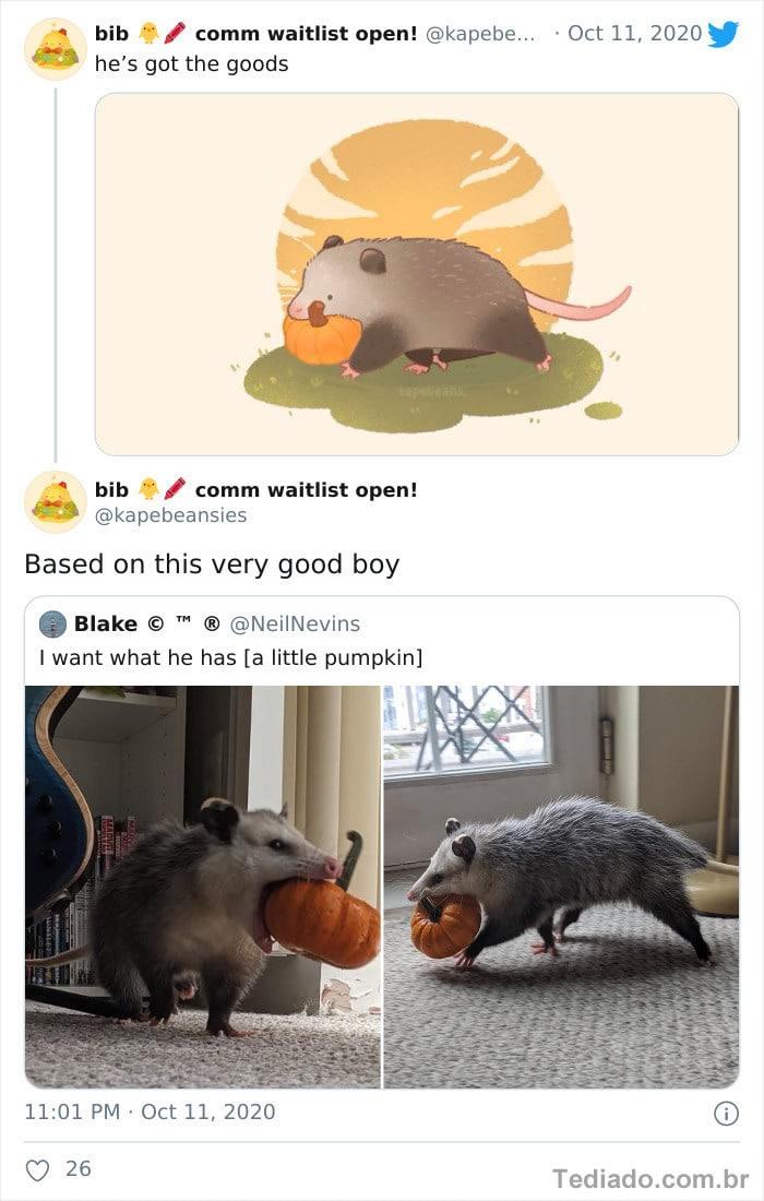 Bib transforma fotos engraçadas de animais em desenhos fofos 6