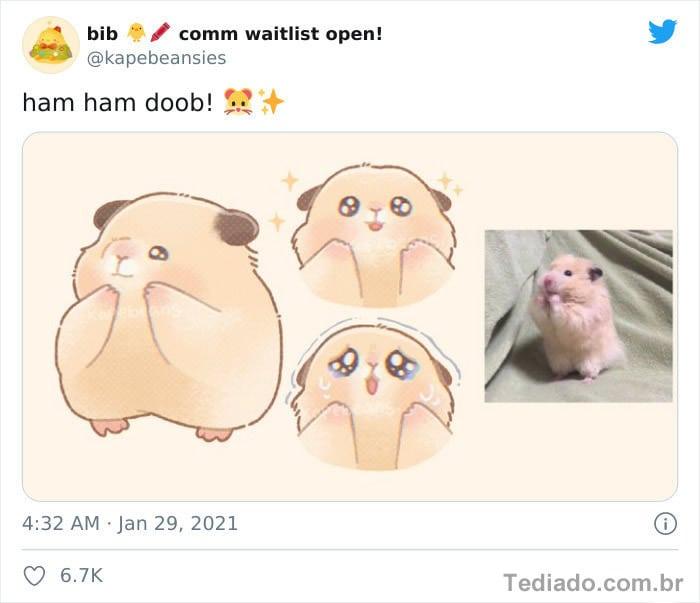 Bib transforma fotos engraçadas de animais em desenhos fofos 14