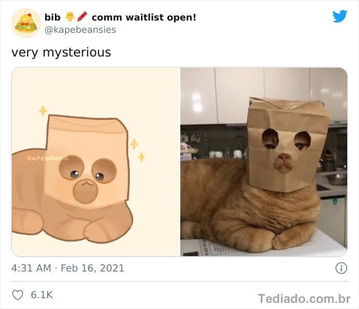 Bib transforma fotos engraçadas de animais em desenhos fofos 17