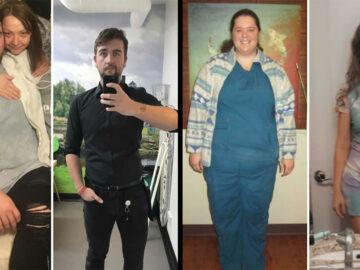 42 exemplos inspiradores de perda de peso que mostram o que a força de vontade e o trabalho árduo podem fazer 41