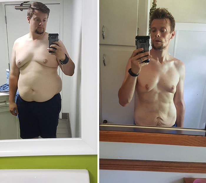 42 exemplos inspiradores de perda de peso que mostram o que a força de vontade e o trabalho árduo podem fazer 38