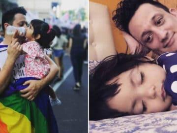 Homem solteiro adota um bebê que foi abandonado em hospital 3