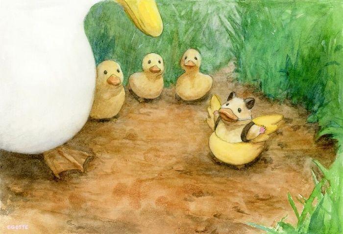 34 Ilustrações saudáveis de um Hamster Chamado Sukeroku 23