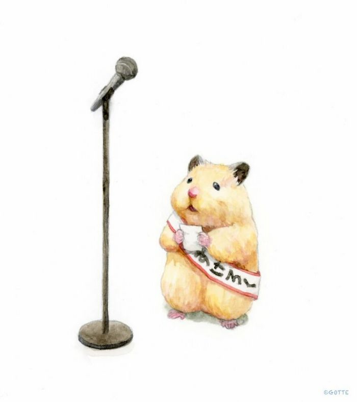34 Ilustrações saudáveis de um Hamster Chamado Sukeroku 25