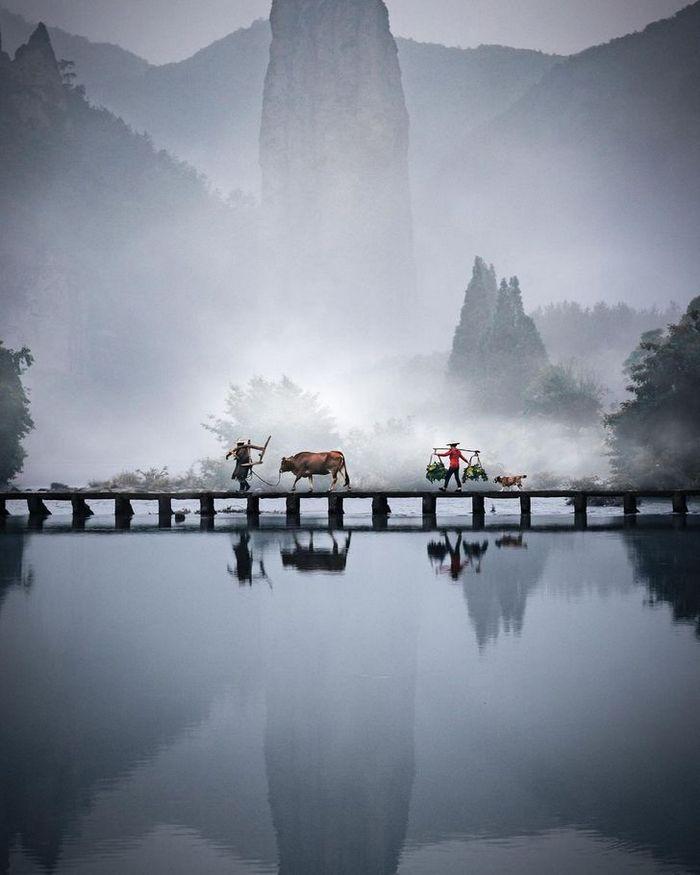 Um fotógrafo captura a beleza hipnotizantes da Ásia 10