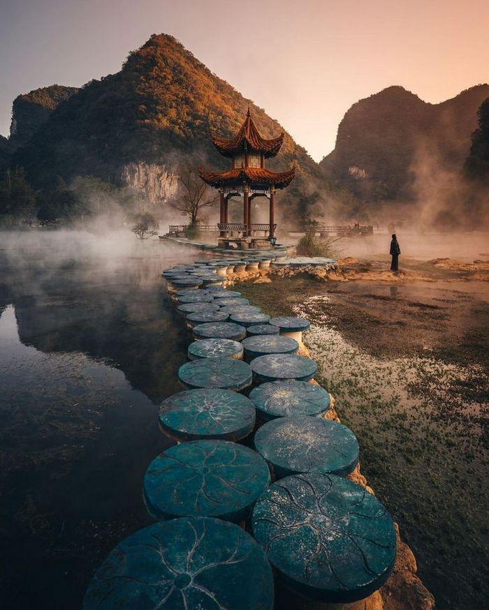 Um fotógrafo captura a beleza hipnotizantes da Ásia 20
