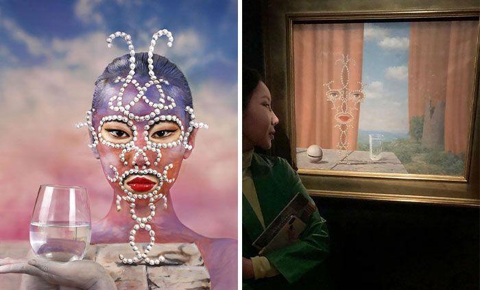 Artista cria ilusões óticas complexas em seu corpo e está bagunçando a mente das pessoas (31 fotos) 21