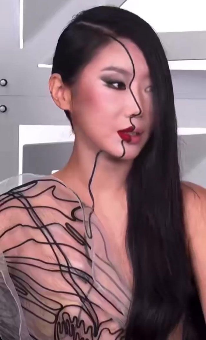 Artista cria ilusões óticas complexas em seu corpo e está bagunçando a mente das pessoas (31 fotos) 31