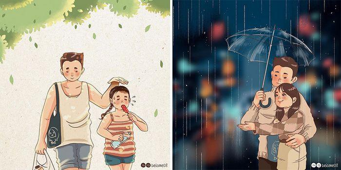 Artista desenha quadrinhos legais sobre estar em um relacionamento (39 fotos) 8