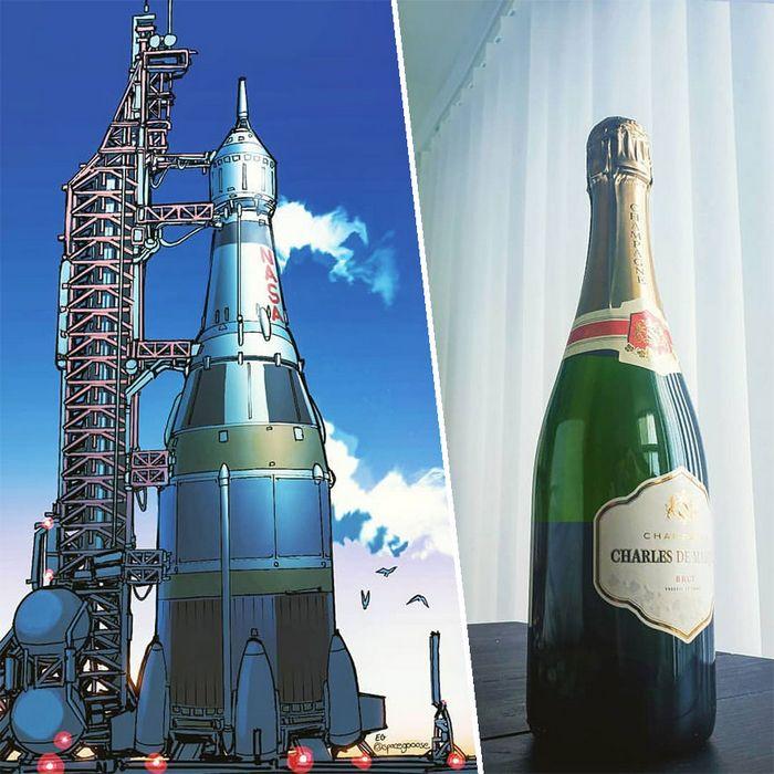 Artista transforma coisas do dia a dia em naves espaciais, e o resultado está fora deste mundo (23 fotos) 7