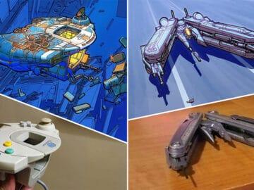 Artista transforma coisas do dia a dia em naves espaciais, e o resultado está fora deste mundo (23 fotos) 32