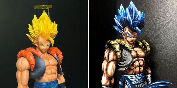 Artista transforma estatuetas em esculturas ultra realistas de personagens de anime (38 fotos) 2