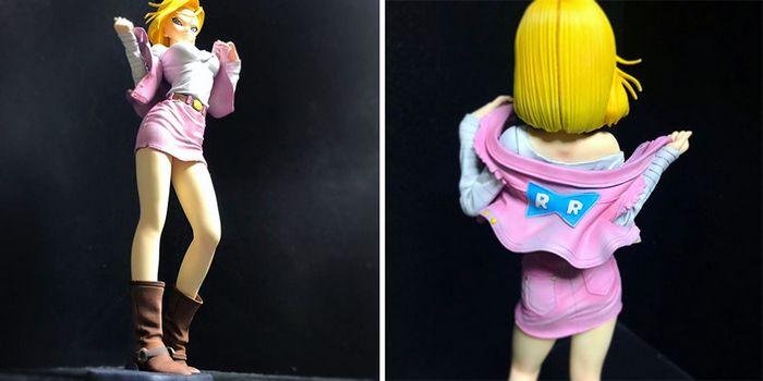Artista transforma estatuetas em esculturas ultra realistas de personagens de anime (38 fotos) 8