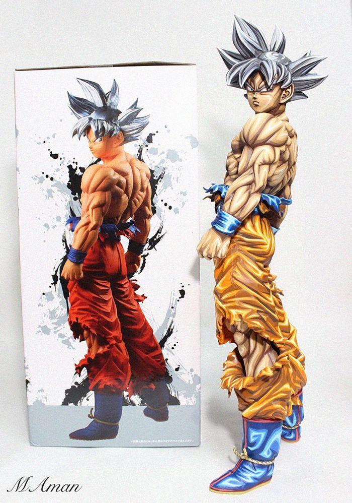 Artista transforma estatuetas em esculturas ultra realistas de personagens de anime (38 fotos) 20