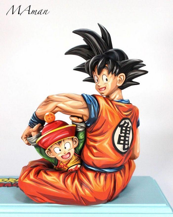 Artista transforma estatuetas em esculturas ultra realistas de personagens de anime (38 fotos) 27